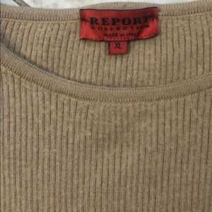 Made in Italy men's sweater, can be unisex oversized sweater.  Fall sweater.
